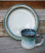 Handmade Ceramic plate and mug